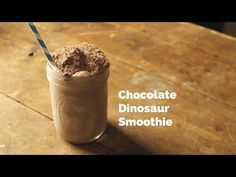Chovolate Dinosaur Smoothie