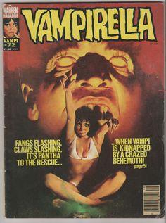 Vampirella V1 72. VF. September 1978. by RubbersuitStudios #vampirella #richardcorben #comicbooks