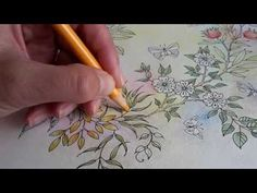 Building background in pastel colours in Secret Garden - YouTube