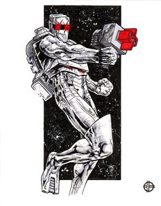 Rom - Spaceknight by ~BrettBarkley on deviantART