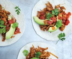 Vegan Jackfruit Carnitas #MeatlessMonday