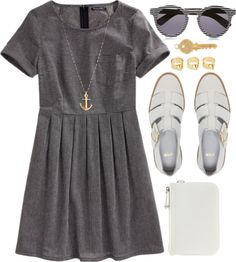"""""""stripey"""" by ffeathered on Polyvore"""