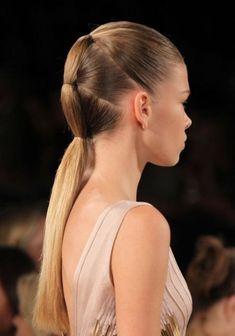 coiffure queue de cheval originale