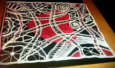 INSPIRATION ~ Nashwa Taha lace art