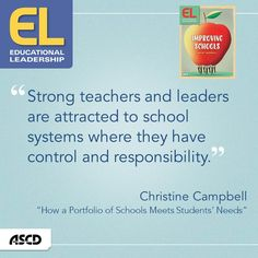 Learn how a portfolio of schools meets students' needs in the February issue of Educational Leadership.