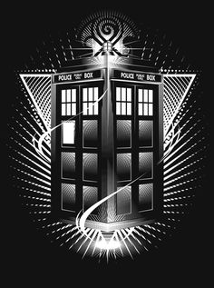 Doctor Who T-shirt TARDIS Whovian by VincentCarrozza on Etsy
