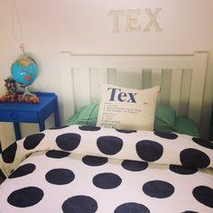 A peek at my boys' bedrooms
