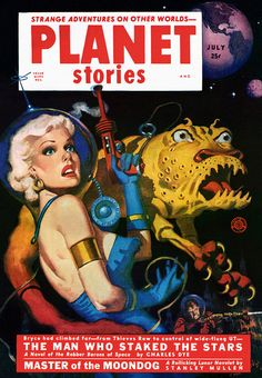 Planet Stories, ca. 1950s - so the stars were vampires?