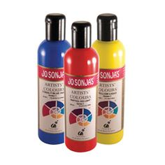 Jo Sonja's Artists' Colours. Jo Sonja's is ideal for any kind of artistic technique requiring fine detail work and a smooth even finish. Dilute for amazing water colour effects. It is a more durable and fast drying alternative to gouache.
