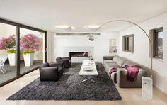Wohnzimmerwand modern ~ Wohnzimmer gestaltung modern wohnzimmer modern luxus hause