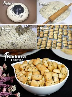 Haşhaşlı Çörek Otlu Kraker Tarifi