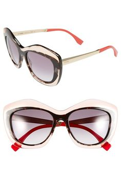 Love these Fendi Retro Sunglasses. I think I want them for my vacation in a few weeks