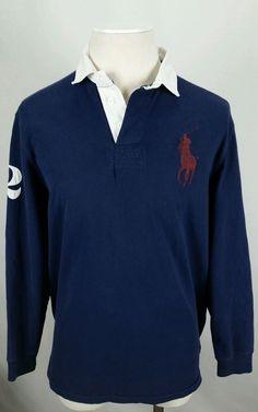 deda6ce9 Polo Ralph Lauren Men's 100% Cotton Solid Long Sleeve Sleeve Casual Shirts    eBay