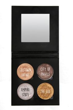 The Hussle (4 Shade Warm Shimmer Palette)