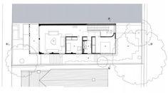 Plano de casa de dos pisos de casa pequeña