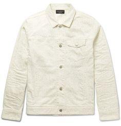 JOHN ELLIOTT Thumper Slub Cotton-Blend Jacket. #johnelliott #cloth #coats and jackets