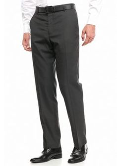 G  Norman Collection Charcoal Dress Pants