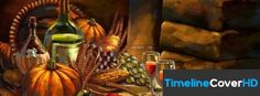 Thanksgiving Meal Facebook Cover Timeline Banner For Fb Facebook Covers
