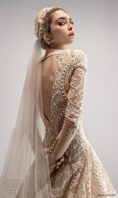 Luxury Wedding Dress, Designer Wedding Dresses, Gown Wedding, Lovely Dresses, Beautiful Outfits, Ersa Atelier, French Lace, Bridal Collection, Couture Fashion