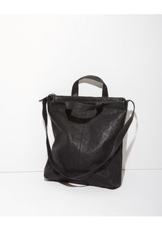 Hope Leather Zip Tote | La Garçonne