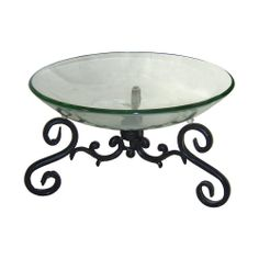 Cheung's FP-3002 Metal Frame Decorative Bowl