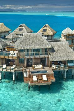 Water villa with plunge pool and sun deck!