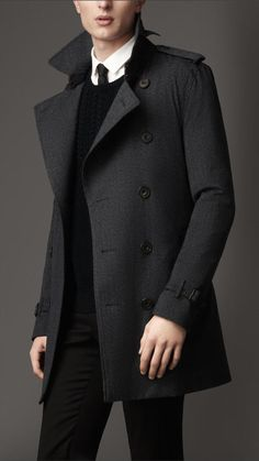 Burberry Mid-Length Technical Wool #Trench Coat on shopstyle.com