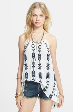 Free People Peace & Arrow Tunic, $76.80 http://papasteves.com