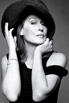 Such a beautiful and classy photo of Meryl