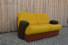Phsychodelische 70er Sitzgarnitur! von affordabledesign auf DaWanda.com