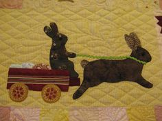 Quilting Blog - Cactus Needle Quilts, Fabric and More: Rabbits Prefer Chocolate Quilt