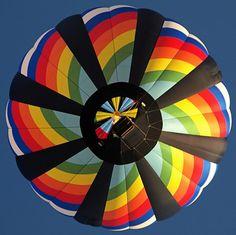 Hot Air Balloon (patterns) by Gary Burke ~ Rainbow