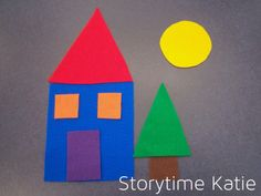 Today's flannelboard comes from Miss Kristie at The Library Village — The Shape Story! No template for this one still I free-handed it. This worked really well in my toddler storytime! Flannel Board Stories, Felt Board Stories, Felt Stories, Flannel Boards, Shapes For Kids, Free Shapes, Educational Activities For Toddlers, Sequencing Activities, Preschool Literacy
