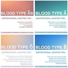 Blood Type Ab Blood Type, Blood Types, Blood Sugar Diet, Blood Groups, Zodiac, Personality, Inspirational Quotes, Cook, Sayings