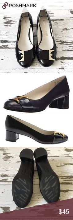 NWT Anne Klein Hastobe Buckle Shoes Shoes are brand new and have never been worn. They are new with box, however the box is missing the top. They have a one and a half inch heel. Anne Klein Shoes Flats & Loafers
