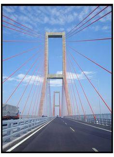 Tourism Indonesia: Suramadu Bridge