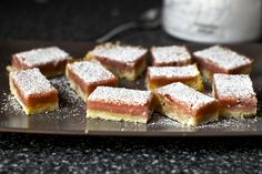 The only way to improve on lemon bars? Add raspberry puree for pink lemonade! Yields a gorgeous pale pink color and a more subtle flavor.