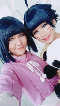 Sarada Y Sasuke, Hinata, Boruto Cosplay, Anime Cosplay, Naruhina, Best Cosplay, Awesome Cosplay, Anime Naruto, Costumes