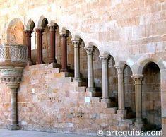 Púlpito del refectorio de la Abadía de Santa María de la Huerta (Soria) -Arquit.Cisterciense -21
