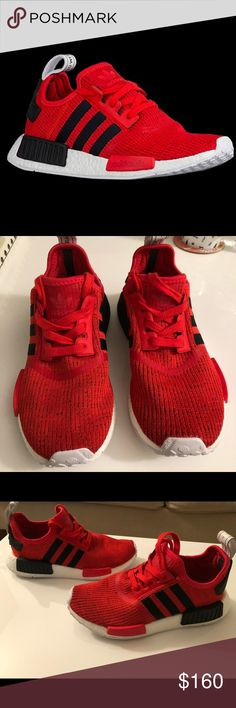 Adidas NMD R1 Men's Originals Adidas mens NMD R1 REDs. US Size 5 Without box. Worn in the house one time.  Too small for me! adidas Shoes Sneakers