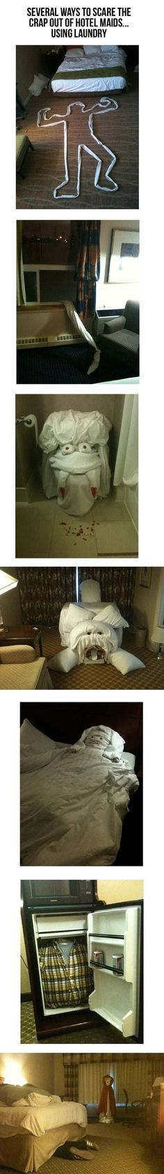 Before leaving your hotel room…