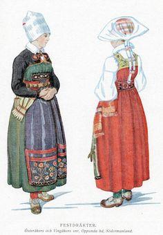 FolkCostume: Sarafan-like costumes of Europe
