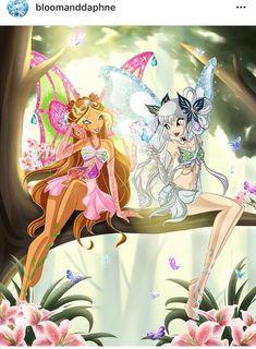 The Winx Club Fairies Photo: Winx on ice Winx Club, Winx Magic, Les Winx, Flora Winx, Kobold, Girly Drawings, Cartoon Shows, Beautiful Butterflies, Magical Girl