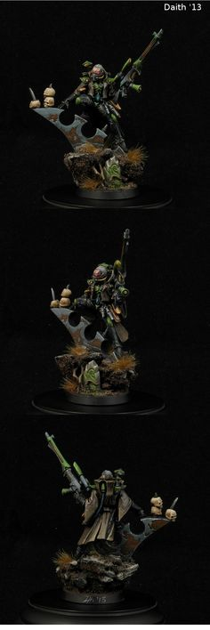 Eldar. Illic Nightspear, the Sentinel of the Stars customized