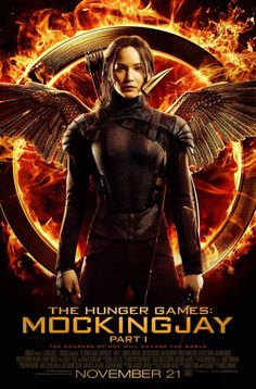 Poster from the movie The Hunger Games: Mockingjay - Part 1.