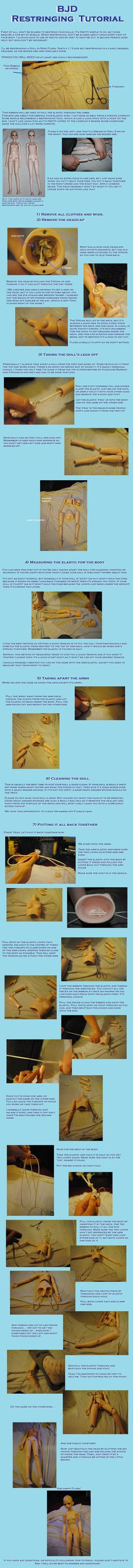 BJD Restringing Tutorial by ~kagen-no-tsuki on deviantART