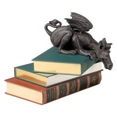 Found it at Wayfair - Whittingford the Chagrined Sitting Dragon Sculpture