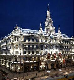 Facade of New York Palace Boscolo Hotel Budapest