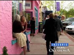 A festive environment greets visitors the first Friday of each month in OKC's Paseo Arts District.