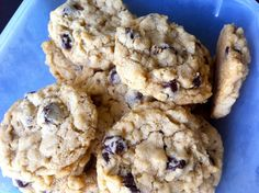 Chewy Oatmeal Chocolate Chip Cookies – Little Bit Sweet